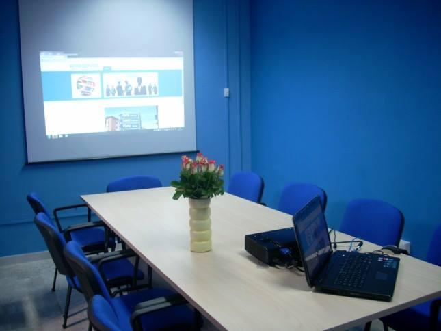 sala interna Intraservice servizi linguistici