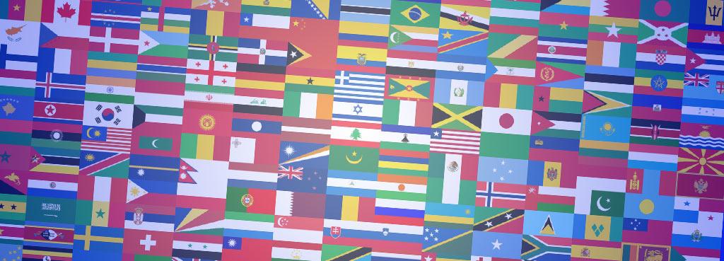 Bandiere Internazionali Intraservice servizi di Traduzione